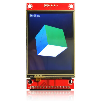 ThingPulse ILI9341 2.4 TFT touch breakout board