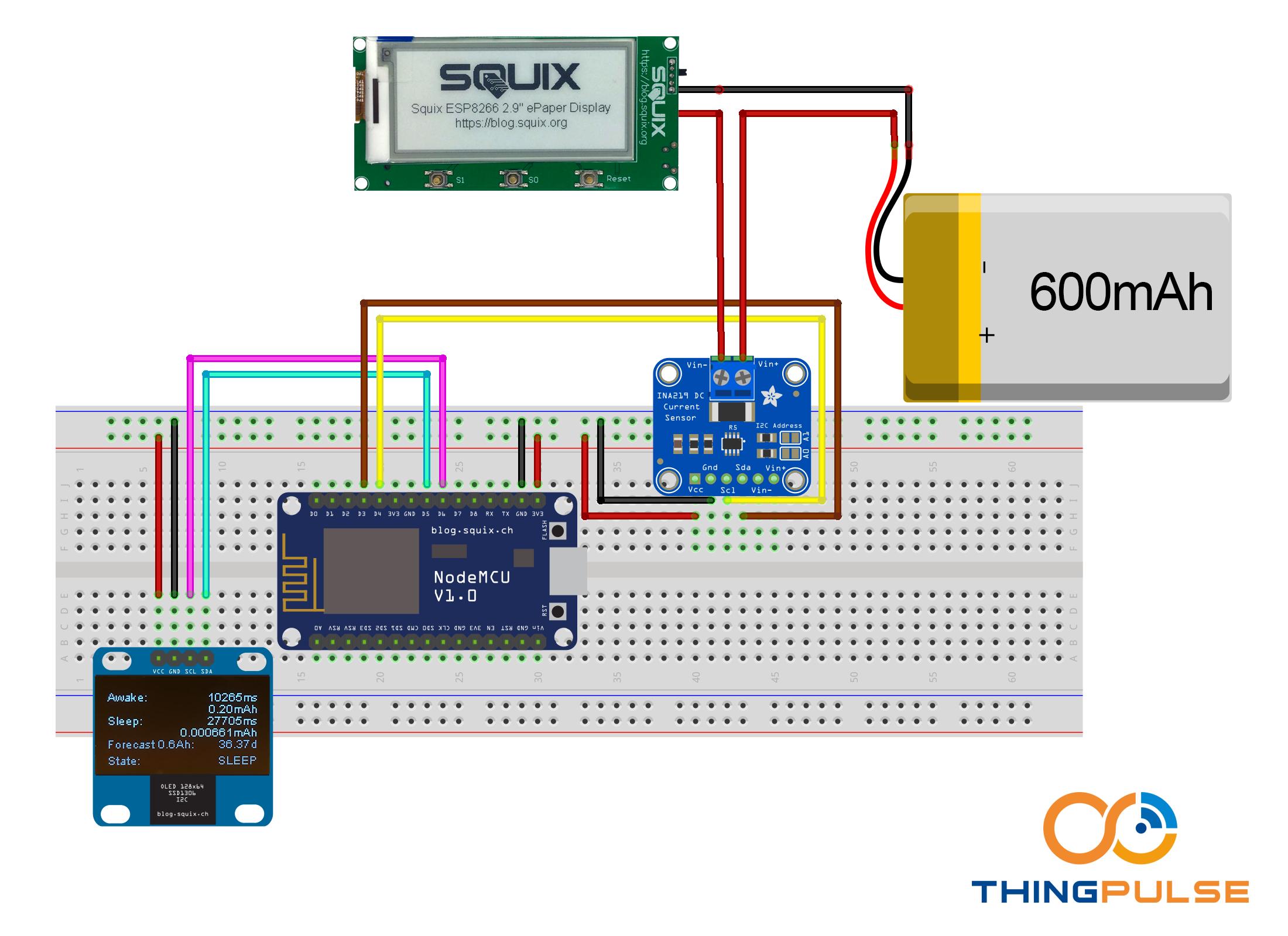 ESP8266: Monitoring Power Consumption • ThingPulse