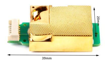 MH-Z19C CO2 Sensor dimensions