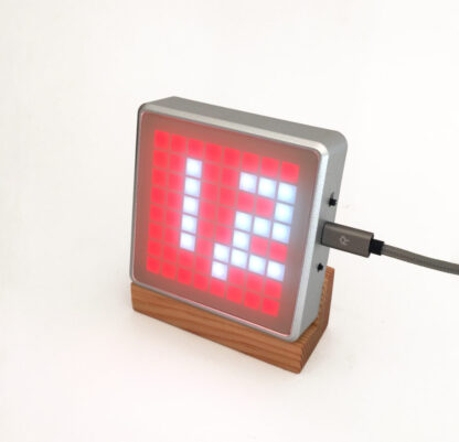 CO2 monitor AMo, CO2 alert with red flashing LEDs