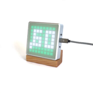 CO2 monitor AMo, CO2 level ok with green LEDs